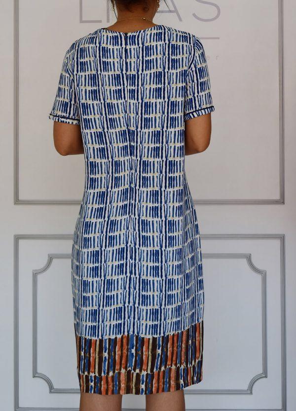 linascloset linas closet moda circular vestido azul mujer