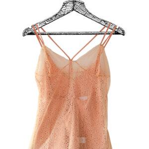 Blusa tiras palo rosa marca Dance&Marvel