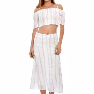 set amalia crop top y falda larga Dance&Marvel