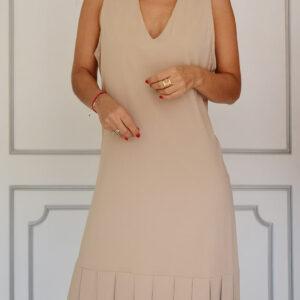 linascloset linas closet moda circular vestido crema