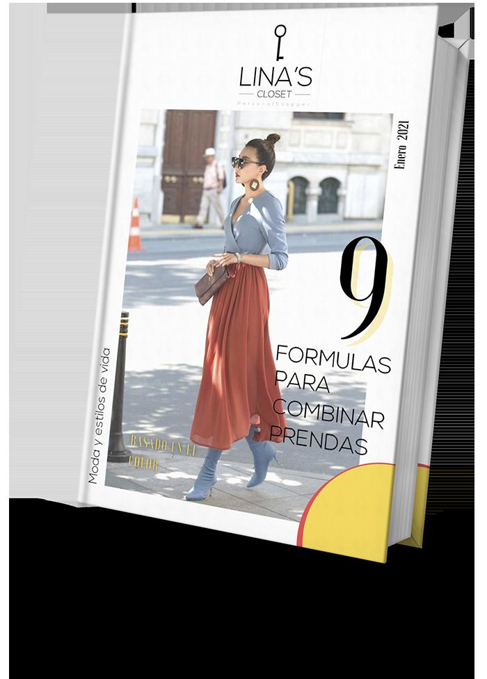 linascloset ebook Formulas para combinar prendas basados en el color